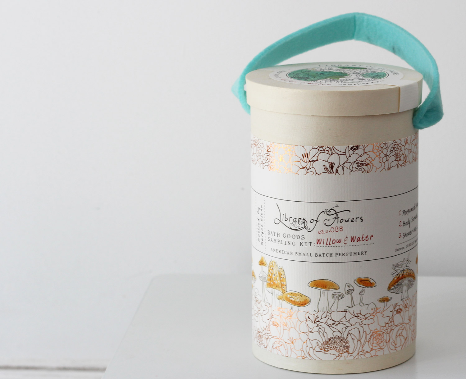 Library of Flowers Field Kit Willow and Water Review